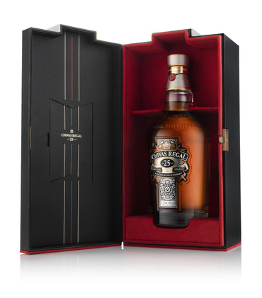 Chivas Regal 25 year old –  De-Luxe-Blended Scotch Whisky 40%Vol. 1x0,7L – Bild 3