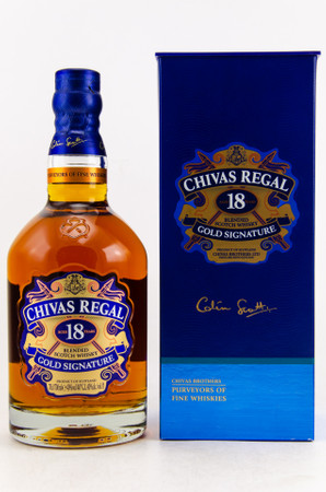 Chivas Regal 18 year old –  De-Luxe-Blended Scotch Whisky 40%Vol. 1x0,7L