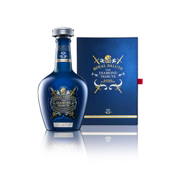Chivas Regal ROYAL SALUTE DIAMOND TRIBUTE  - Blended Scotch Whisky 40%Vol. 1x0,7 – Bild 1