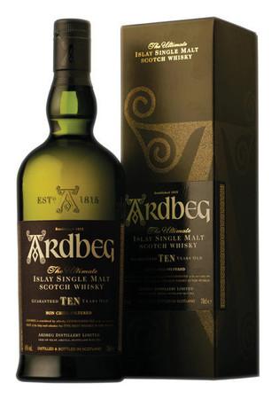 ARDBEG TEN YEARS OLD -  46% Vol 1x0,7L Single Islay Malt Scotch Whisky