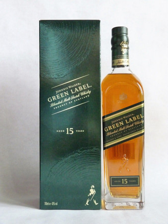 Johnnie Walker Green Label - Blended Malt Whisky 43%Vol. 1x0,7L