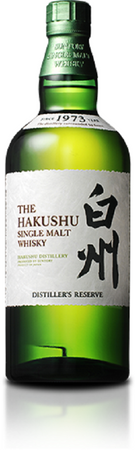 THE HAKUSHU DISTILLER'S RESERVE - Single Malt Whisky JAPAN 43%vol. 1x0,70L