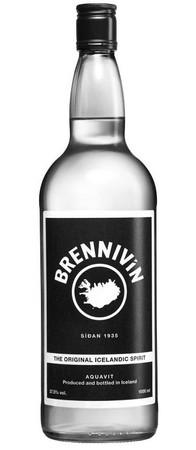 BRENNIVIN Aquavit aus Island / Iceland 40% 1x0,70L
