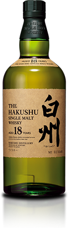 Hakushu 18 Jahre Single Malt Whisky Japan 43%vol. 1x0,70L