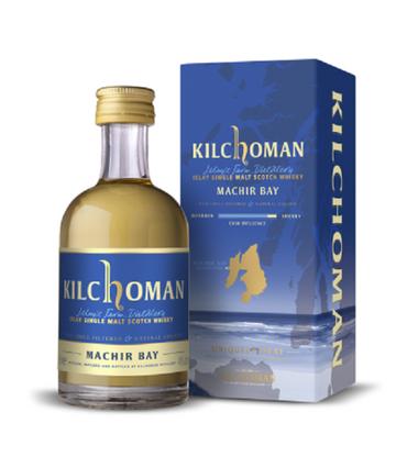 KILCHOMAN Machir Bay -  46% Vol 1x0,05L Miniatur Islay Single Malt Scotch Whisky
