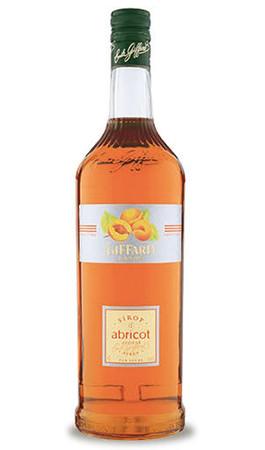 GIFFARD Bar Sirup 1,0 l - Sirup APRIKOSE -  zum Mixen /  Mixgetränke / Cocktails