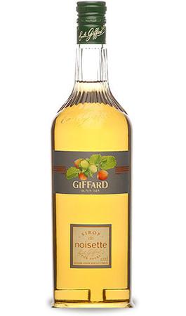 GIFFARD Bar Sirup 1,0 l - Sirup HASELNUSS - zum Mixen /  Mixgetränke / Cocktails