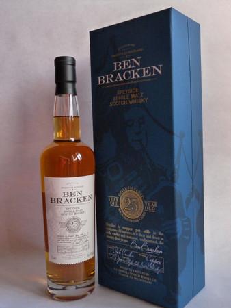 Ben Bracken 25 Years Old Speyside Single Malt Scotch Whisky 40% Vol. 1x 0,7L – Bild 1