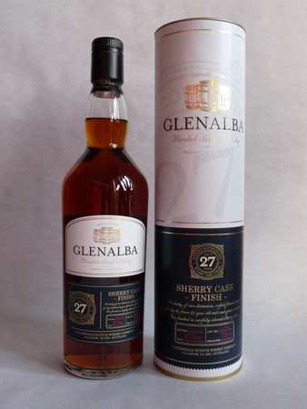 Glenalba Sherry Cask Finish Blended Scotch Whisky 27 Jahre  40% Vol. 1x 0,7L