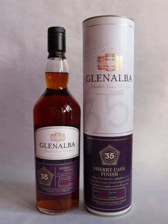 Glenalba Sherry Cask Finish Blended Scotch Whisky 35 Jahre  40% Vol. 1x 0,7L