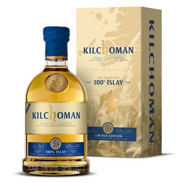 "KILCHOMAN ""100% ISLAY"" 7th Edition - 2010/2017 - ISLAY SINGLE MALT WHISKY 1x0,7L 50% vol. – Bild 1"