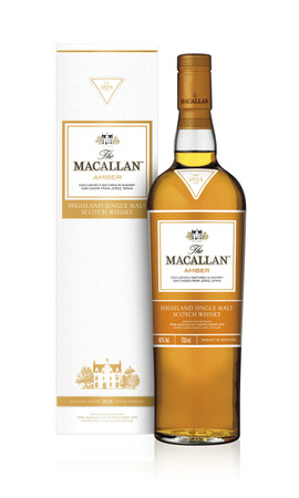 THE MACALLAN Amber -  Single Speyside Malt Whisky 40% 1x0,70L