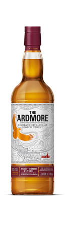 ARDMORE Port Wood Finish - Highland Single Malt Whisky 46% 1x0,70L – Bild 2
