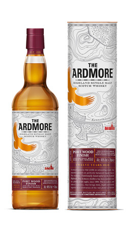 ARDMORE Port Wood Finish - Highland Single Malt Whisky 46% 1x0,70L – Bild 1