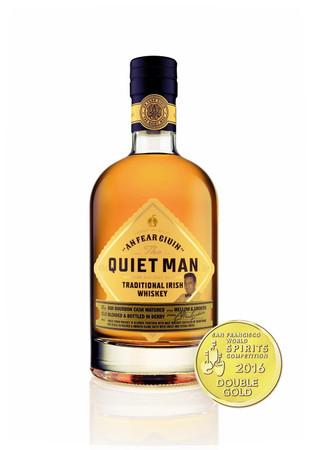 THE QUIET MAN SUPERIOR - IRISH BLEND WHISKEY 1x0,7L 40% vol.