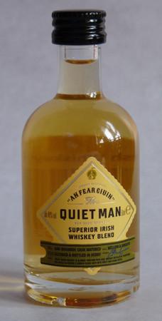 THE QUIET MAN SUPERIOR - IRISH BLEND WHISKEY 1x0,05L 40% vol. MINIATUR