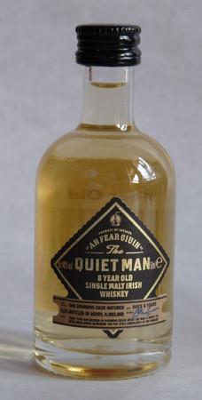 THE QUIET MAN  8 YEARS - IRISH SINGLE MALT WHISKEY 1x0,05L 40% vol. MINIATUR