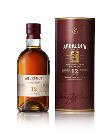 ABERLOUR 12 YEAR OLD SINGLE MALT SCOTCH WHISKY 1x0,7L 40% vol. in Röhre