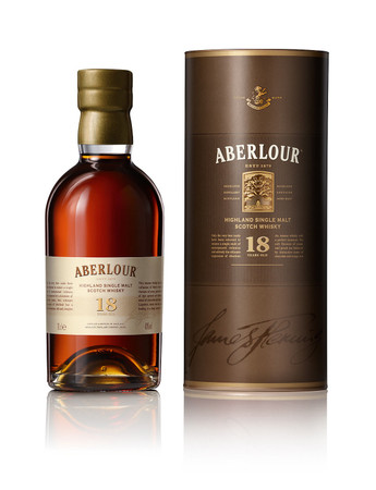 ABERLOUR 18 YEAR OLD SINGLE MALT SCOTCH WHISKY 1x0,7L 43% vol. in Röhre