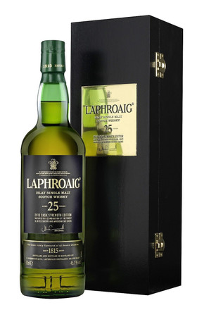 LAPHROAIG 25 Jahre (2015) -  Single Islay Malt Whisky 46,8% 1x0,70L