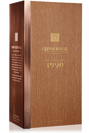 GLENMORANGIE Grand Vintage Malt 1990  - Single Highland Malt Whisky 43%vol 0,7L – Bild 4