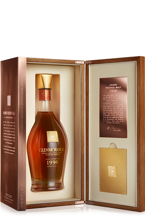 GLENMORANGIE Grand Vintage Malt 1990  - Single Highland Malt Whisky 43%vol 0,7L – Bild 3