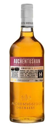 AUCHENTOSHAN Cooper's Reserve 14 Jahre -  Single Lowland Malt Whisky 46% 1x0,70L