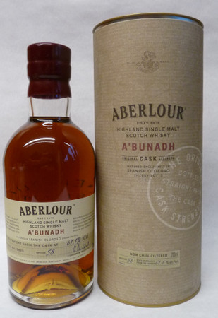 ABERLOUR A'BUNADH BATCH #58 -  SINGLE MALT SCOTCH WHISKY 1x0,7L 61,1% vol. in Röhre – Bild 1