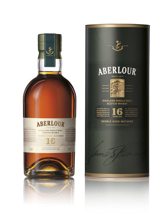 ABERLOUR 16 YEAR OLD SINGLE MALT SCOTCH WHISKY 1x0,7L 40% vol. in Röhre