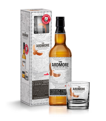 ARDMORE LEGACY -  Highland Single Malt Whisky 40% 1x0,70L Gift Set + Tumbler – Bild 1