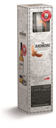 ARDMORE LEGACY -  Highland Single Malt Whisky 40% 1x0,70L Gift Set + Tumbler – Bild 3