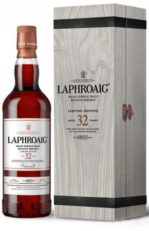 LAPHROAIG 32 Jahre -  Single Islay Malt Whisky 46,6% 1x0,70L
