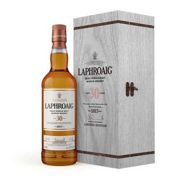 LAPHROAIG 30 Jahre (2016) -  Single Islay Malt Whisky 53,5% 1x0,70L
