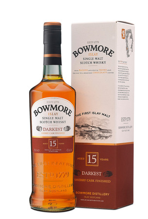 BOWMORE 15 Jahre Darkest -  Single Islay Malt Whisky 43% 1x0,70L