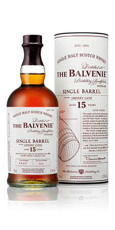 Balvenie 15 Jahre Single Barrel Sherry Cask 0,7l 47,8% Single Malt Scotch Whisky