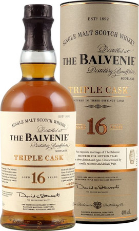 Balvenie 16 Jahre Triple Cask 0,7l 40,0% Single Malt Scotch Whisky – Bild 1