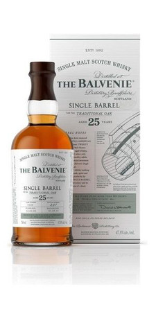 Balvenie 25 Jahre Single Barrel Traditional Oak 0,7l 47,8% Single Malt Whisky
