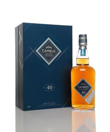 CAMBUS 40 Jahre Special Releases 2016  52,7% Vol 1x0,7L Single Grain Whisky
