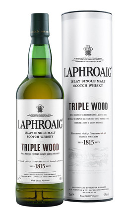 LAPHROAIG TRIPLE WOOD -  Single Islay Malt Whisky 48% 1x0,70L
