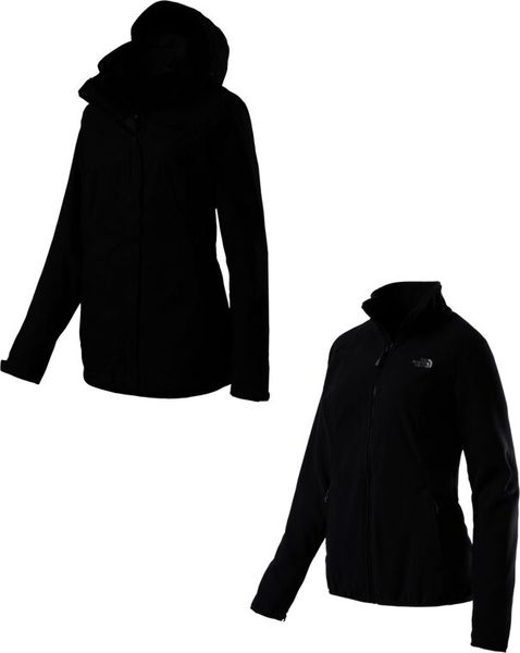 low priced bd3be 2d744 THE NORTH FACE W EVOLVE II TRICLIMATE JACKET - EU Damen