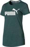 PUMA ESS   Logo Heather Tee Damen