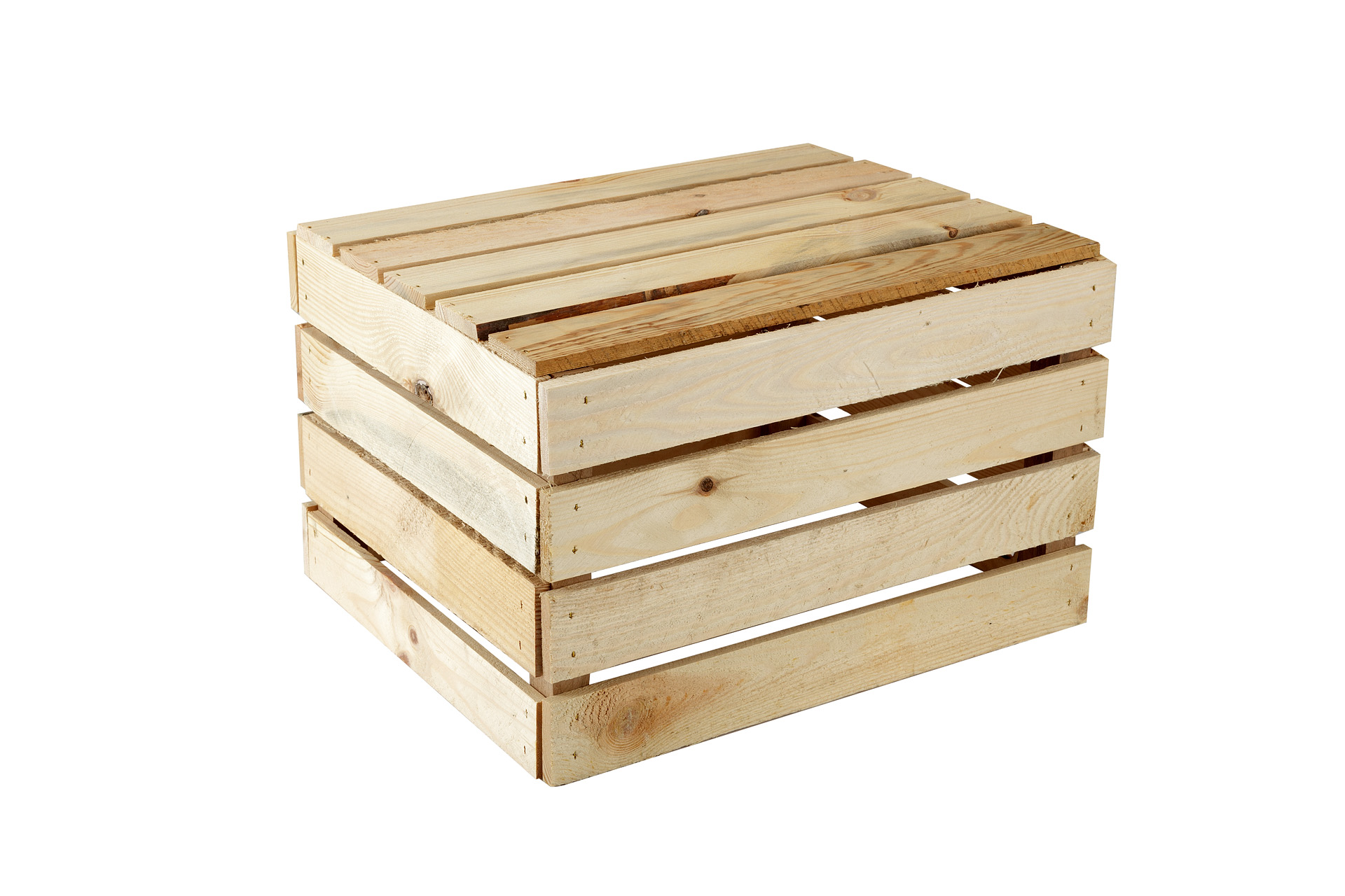 GrandBox Caja de Madera Natural-Box Caja de Vino Caja de Frutas Caja Decorativa Almacenamiento Vintage Shabby Chic Retro Caja de le/éa
