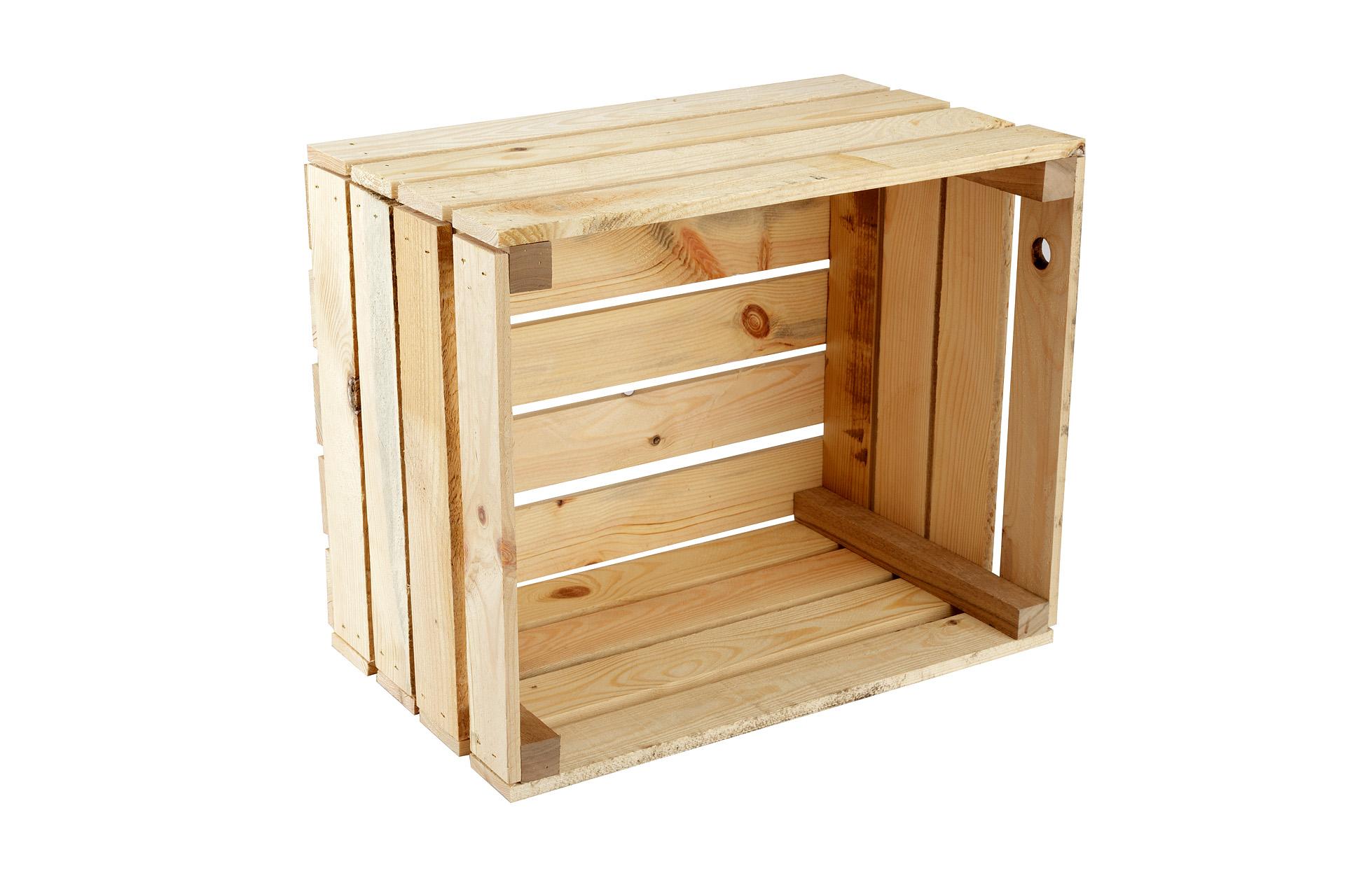 Caisse De Vin Déco caisse non traité natural-box, caisse à vin, caisse à fruits, caisse de  décoration, rangement vintage shabby chic, caisse à bois de chauffage