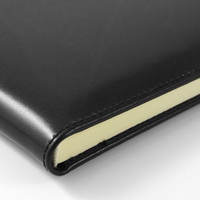 Gästebuch mit Ledereinband A4 mit Blindprägung – Bild 4