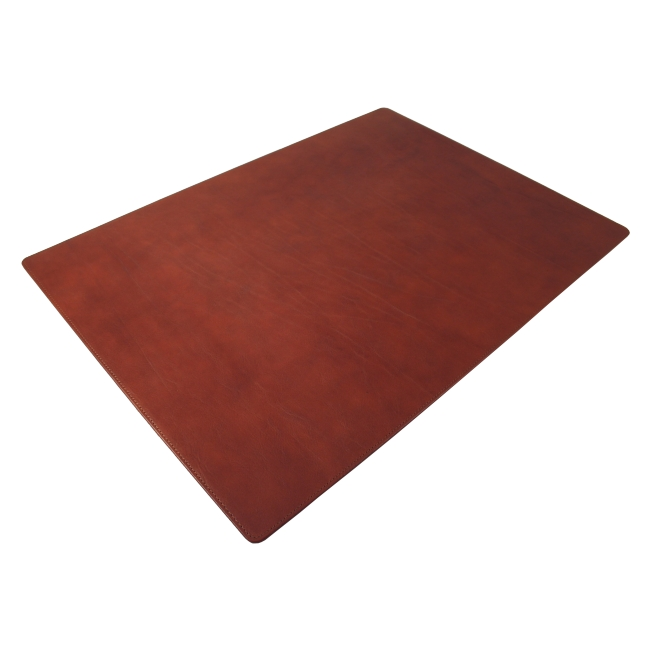 Lederunterlage Rustico braun 50,5x42,5 cm – Bild 2