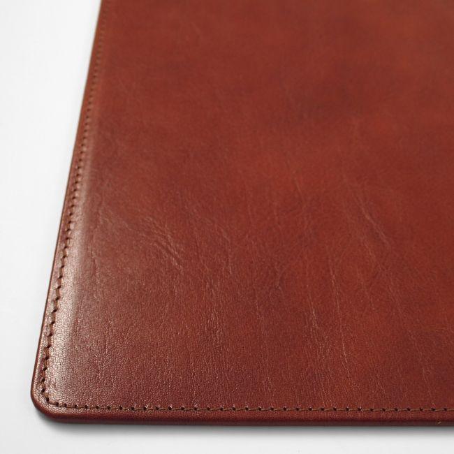 Lederunterlage Rustico braun 50,5x42,5 cm – Bild 3