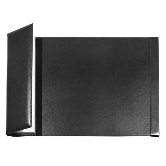 Schreibunterlage Nappaleder mit Seitenklappe 67x43 cm – Bild 1