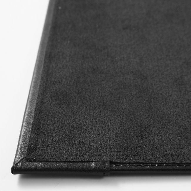 Schreibunterlage Nappaleder mit Seitenklappe 67x43 cm – Bild 4
