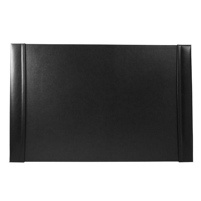 Schreibunterlage Cardiff mit Einsteckleisten Leder schwarz 66 x 43 cm