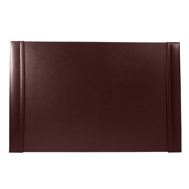 Schreibunterlage Cardiff mit Einsteckleisten Leder bordeaux 66 x 43 cm